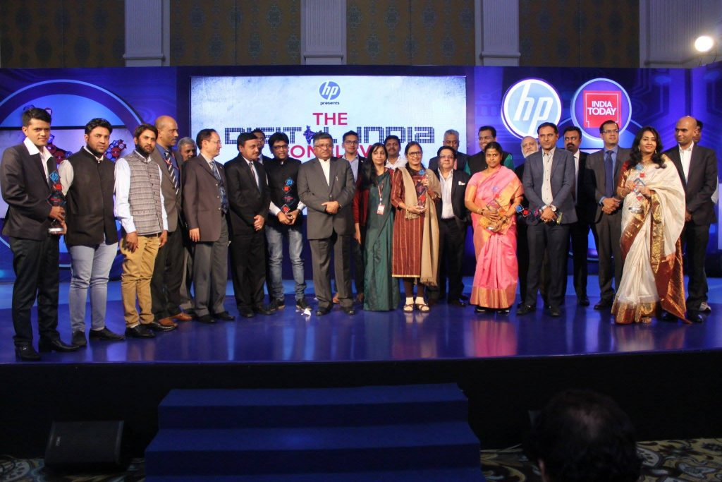 The National Digital conclave event winners and panelists and dignitaries