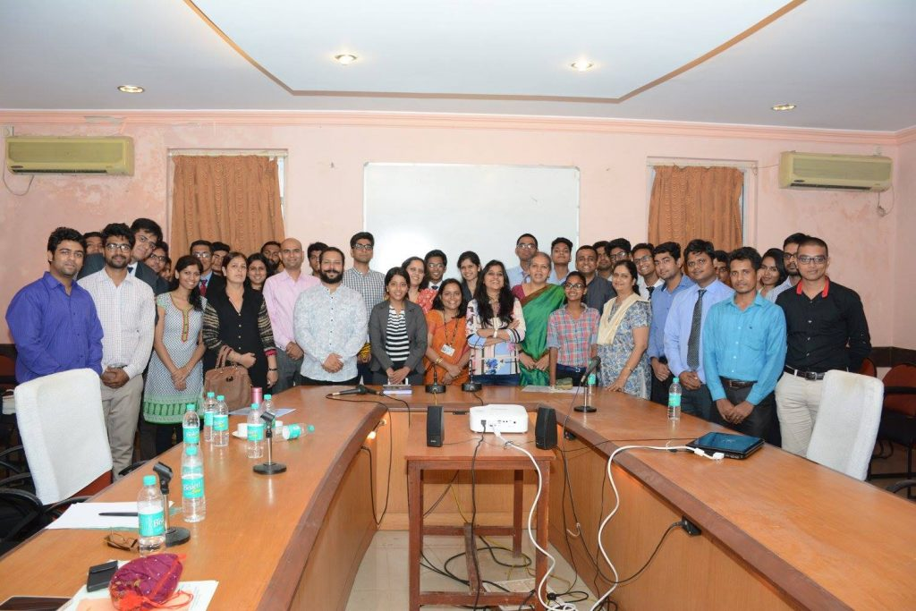The complete team during the event of E-CELL INAUGURATION
