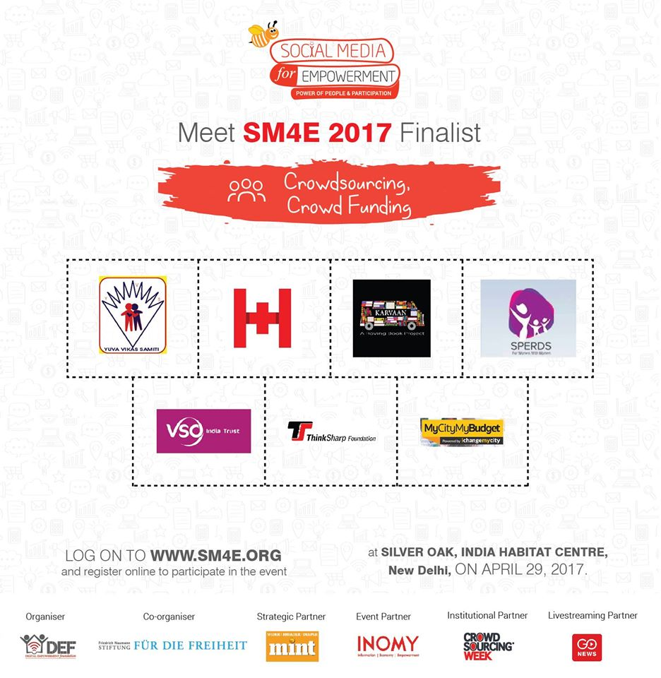 Our nomination for award SM4E2017
