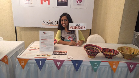 Our Volunteer dr.shraddha attended SM4E2017 awards event on behalf of our team