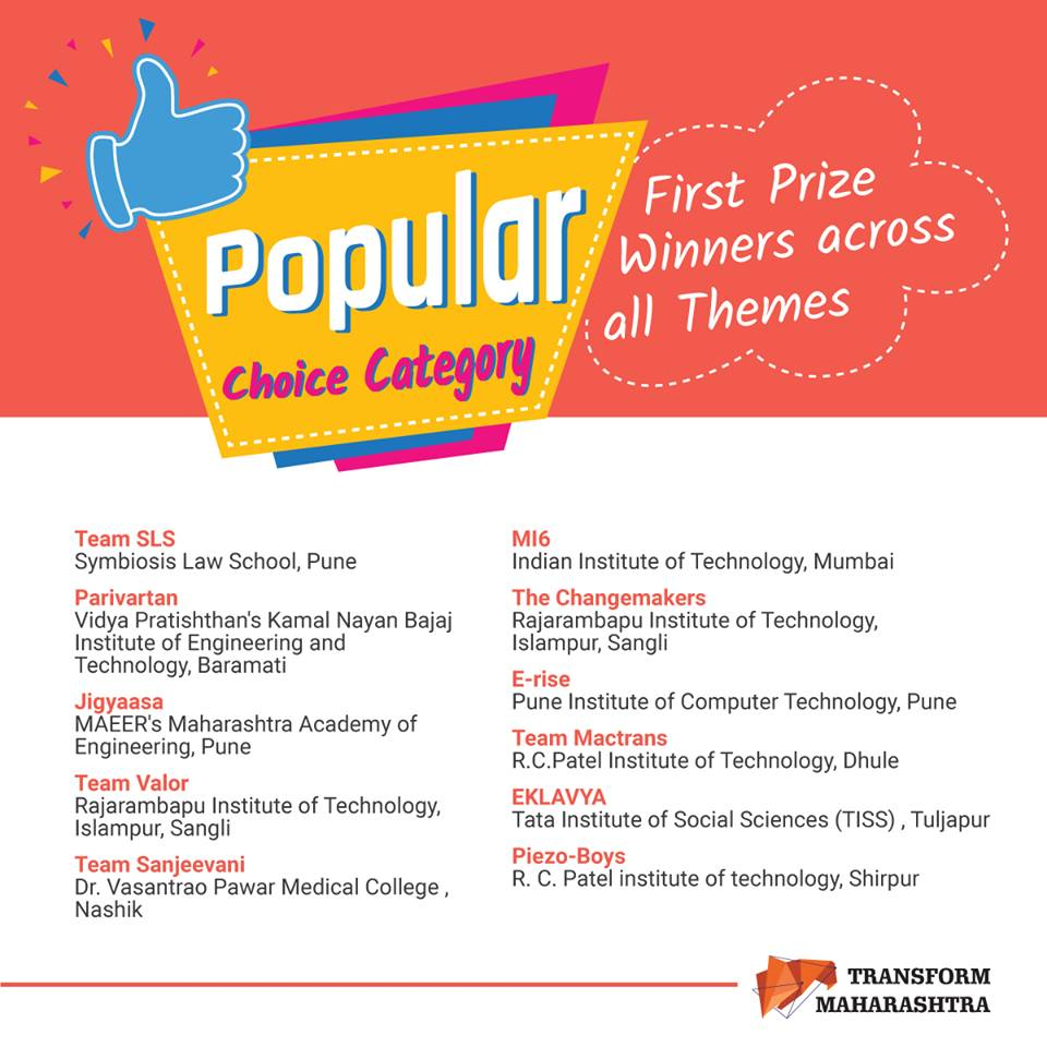 winners of Popular choice categorye