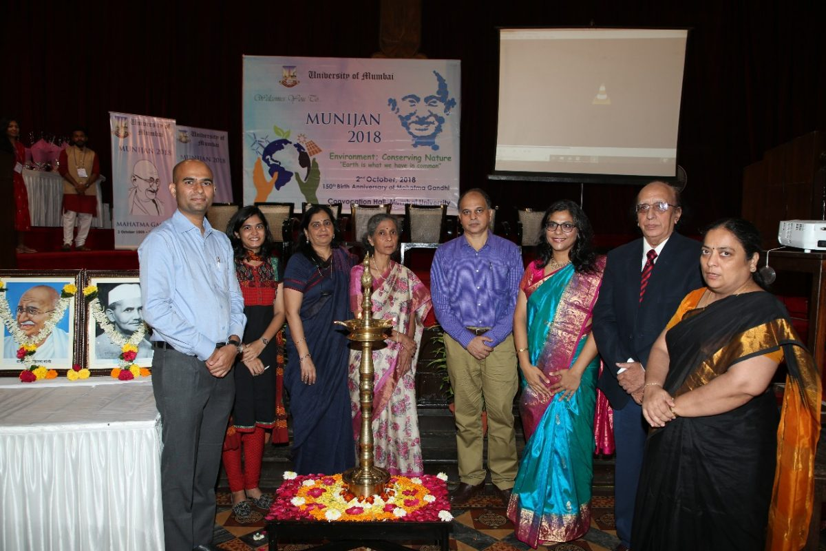 Santosh Phad as panelist for MUNIJAN 2018 organised by Mumbai University