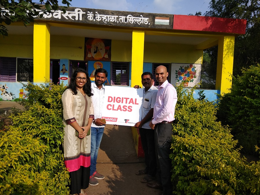 6th StudyMall Launched at Z.P.School Badakwasti, Dist-Aurangabad